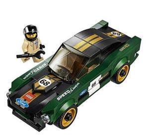 LEGO 乐高 超级赛车系列 75884 1968款福特野马108元