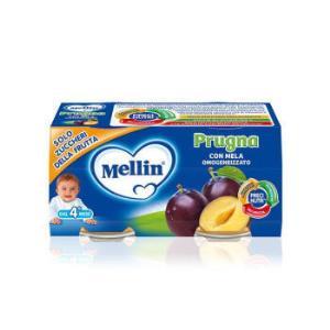 PLUS会员好价: 美林(MELLIN)美林Mellin 西梅泥200g/盒 4个月以上宝宝适用 *8件110.31元(合13.79元/件)