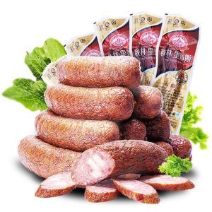 秋林里道斯 红肠 哈尔滨红肠 110g每袋*10 方便速食 熟食 香肠 火腿肠 开袋即食 休闲零食大礼包