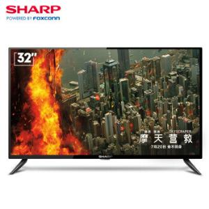 SHARP 夏普 2T-C32ACSA 32英寸 高清液晶电视 949元