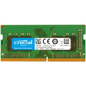 crucial 英睿达 4GB DDR4 2400 笔记本内存条 219元