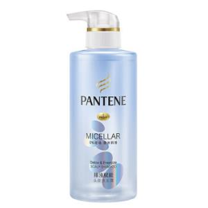潘婷氨基酸无硅油洗发水微米净透排浊赋能300ml(去油 强韧清爽) *7件 155.4元(合22.2元/件)