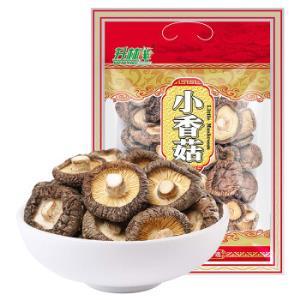 升林 小香菇 蘑菇山珍干货菌菇福建古田珍珠菇168g *2件42.8元(合21.4元/件)