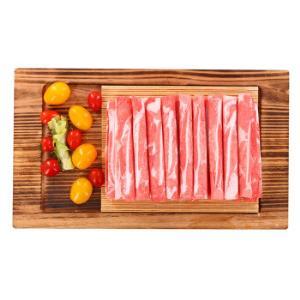 草原宏宝 羔羊脆骨羊肉片 500g/袋 无公害谷饲 *3件107元(合35.67元/件)