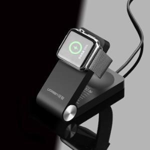 绿联 MFi认证 苹果手表磁力充电器 便携iwatch3/2/1代无线充电数据线 apple watch充电配件底座支架 30703 *2件326元(合163元/件)