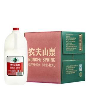农夫山泉 饮用天然水 4L*429.9元