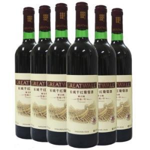 长城(GreatWall)红酒 特酿3年解百纳干红葡萄酒 整箱装 750ml*6瓶138.9元