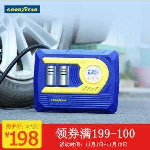 Goodyear 固特异 GY-2582 车载充气泵 158元