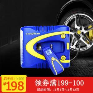 固特异(GOOD YEAR) GY-2509 车载充气泵 蓝色+凑单品 94元