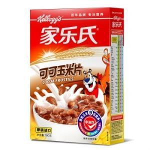 泰国进口 家乐氏(Kellogg's)可可玉米片 进口麦片 即食冲饮 营养谷物早餐190g *2件    18.9元(合9.45元/件)