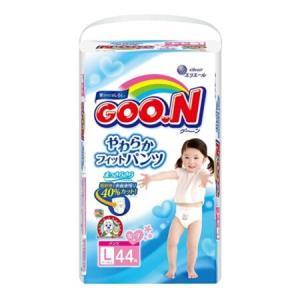 GOO.N 大王 维E系列 婴儿纸尿裤 女宝宝 L44片 *2件 111.2元包邮