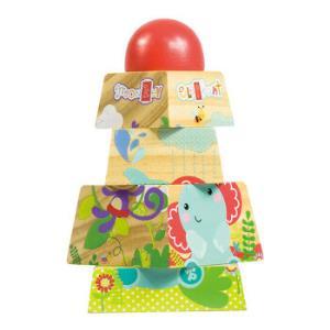费雪益智积木玩具 小动物叠塔 FP1010 *5件