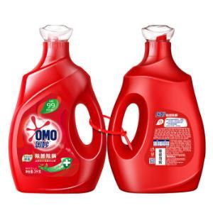 OMO 奥妙 天然酵素除菌除螨 洗衣液 3kg+3kg69.9元