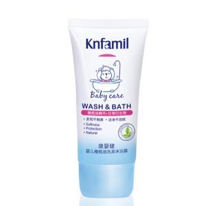 Knfamil 康婴健 婴儿橄榄油洗发沐浴露 80ml *7件49.3元(合7.04元/件)