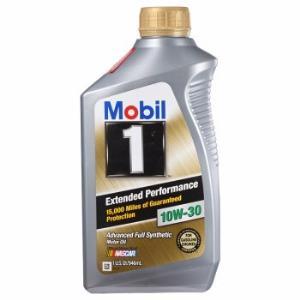 Mobil 美孚 1号全合成机油 长效EP 10W-30 SN 级 1QT *12件 594.7元(合49.56元/件)