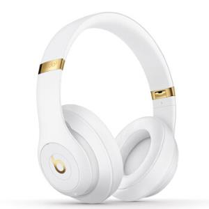 Beats Studio3 Wireless 录音师无线3代 头戴式 蓝牙无线降噪耳机 游戏耳机 - 白色 含麦克风 MQ572PA/A1999元