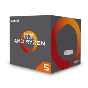 AMD 锐龙 Ryzen 5 2600 CPU处理器1189元