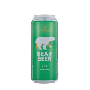 德国进口 哈尔博(Harboe)熊牌清爽啤酒500ml*24整箱装99元