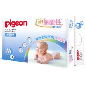 pigeon 贝亲 PH弱酸性 婴儿纸尿裤 M74片 *5件+凑单品 302元(合60.4元/件)