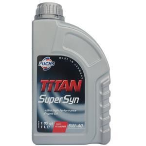 Fuchs 福斯 泰坦 SUPER SYN 5W-40 SN级 全合成机油 1L *16件 598.72元(合37.42元/件)