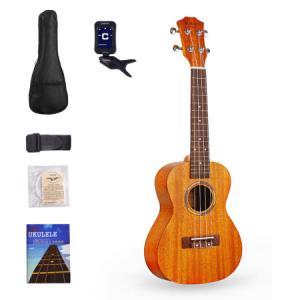 摩里恩ukulele尤克里里乌克丽丽23寸桃花芯小吉他245.52元