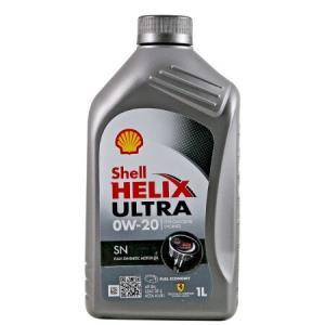 Shell 壳牌 Helix Ultra 超凡灰喜力 0W-20 SN 全合成机油 1L *13件 610.19元含税包邮(合46.94元/件)