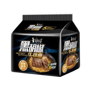 康师傅 方便面(KSF)经典系列黑胡椒牛排泡面  五连包 *3件31.29元(合10.43元/件)