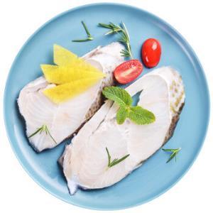 海买 大西洋真鳕鱼切身 500g/袋 3-4段 海鲜年货 *6件128元(合21.33元/件)