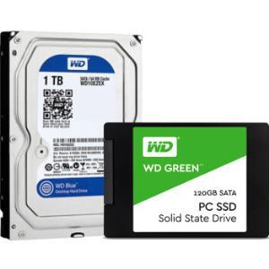 西部数据(WESTERN DIGITAL) Green系列 120GB SATA接口 SSD固态硬盘99元