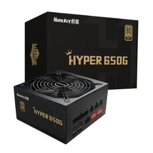 Huntkey 航嘉 HYPER650G 额定650W 全模组 电源(80PLUS金牌) 499元