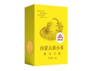 柴火大院 内蒙古黄小米  1kg *2件24.8元(合12.4元/件)