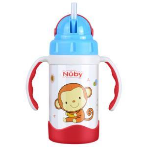 Nuby 努比 2D动物款 儿童吸管保温杯 蓝色88元