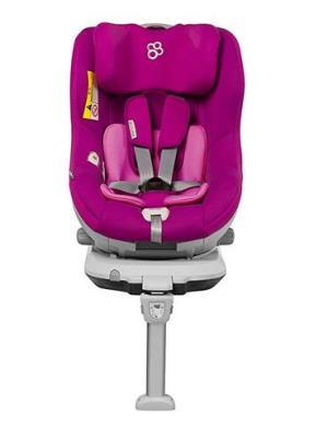 Baby first 汽车儿童安全座椅企鹅萌军团-石榴紫2080元