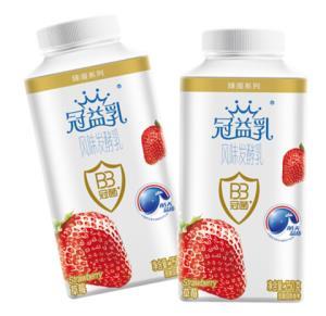 蒙牛 冠益乳 风味发酵乳 草莓风味酸奶 250g *59件301.5元(合5.11元/件)