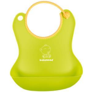 世纪宝贝(babyhood)围兜围嘴饭兜宝宝吃饭婴儿口水巾 绿色 BH-4019.9元
