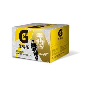 佳得乐柠檬味 功能运动饮料 600ml*15瓶 秒杀价49.9元