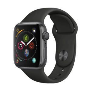 Apple Watch Series 4智能手表(GPS款 40毫米深空灰色铝金属表壳 黑色运动型表带 MU662CH/A )3099元