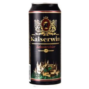 Kaiserdom 凯撒 全麦黑啤酒 500ml*24听 *2件326元包邮(合163元/件)