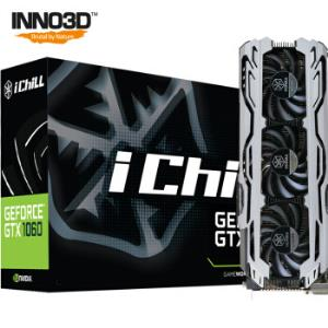 映众 GeForce GTX1060 X3冰龙海量版 ICHILL 1771/8000MHz 6GB/192Bit GDDR5 PCI-E 吃鸡显卡 1699元