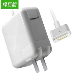 绿巨能适用苹果电脑充电器60W MacBook Pro A1502 A1425 A1435笔记本电源适配器线16.5V3.65A174元