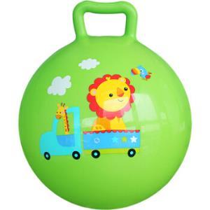 费雪(Fisher Price)儿童玩具球 宝宝小皮球摇摇球10寸(绿色 赠送打气筒)F0601H2 *10件110元(合11元/件)