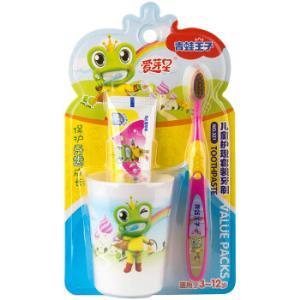 青蛙王子(FROGPRINCE)NO.321爱芽星儿童护理套装牙刷 *5件59元(合11.8元/件)