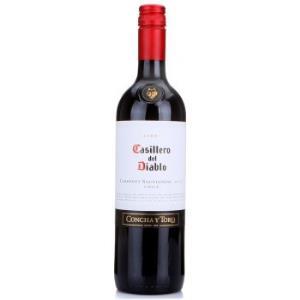 智利 干露酒厂 红魔鬼 卡本妮苏维翁 红葡萄酒 750ml *13件528元(合40.62元/件)
