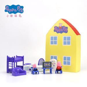 小猪佩奇 Peppa Pig 儿童玩具粉红猪小妹儿童生日礼盒过家家玩具 小猪佩奇之家 *2件 110元(合55元/件)