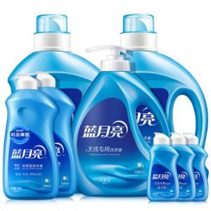 蓝月亮洗衣液机洗手洗12.48斤套装:机洗2kg*2+手洗1kg+手洗预涂500g*2+旅行装80g*387.03元