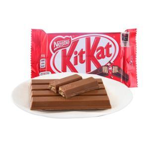 Nestlé 雀巢 KitKat 奇巧 威化牛奶巧克力 45g 4.9元,可低至2.45元