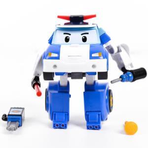 Silverlit 银辉 变形警车机器人 珀利便携式警车套装148元