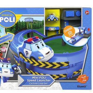 Silverlit 银辉 珀利POLI 汽车玩具 动漫周边 珀利发射轨道系列118元