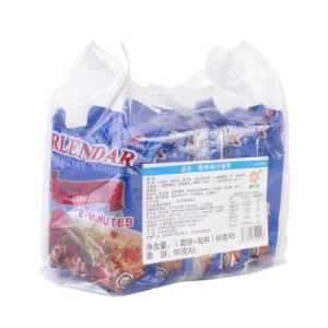 盛之禾 方便面 海鲜味 泡面五连包 出口装 65g*5袋 *10件59元(合5.9元/件)