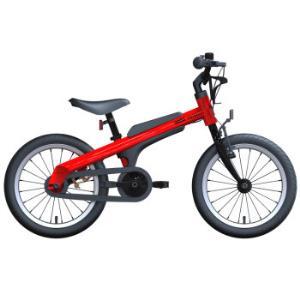 Ninebot九号儿童自行车儿童车男运动款 小孩宝宝男童单车16寸红色 *2件1798.72元(合899.36元/件)